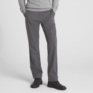 Gap Men's Dark Gray Straight Khaki Pants 34 x 32